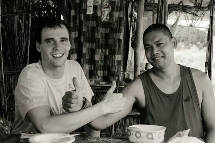 Christian and Fher Photo by Robbie Dumlao